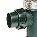 Inlet or outlet fittings for magic pumps