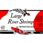 S&C Koi Label - Large River Shrimp 150g