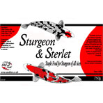 S&C Koi Label - Sturgeon 3mm 750g