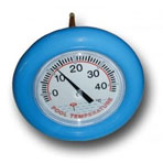 Big blue wheel Thermometer