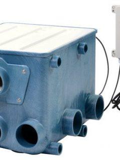 Aquaforte Drum Filter inc control box and lid
