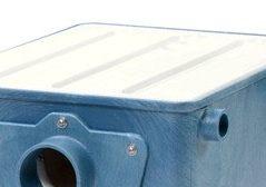 Aquaforte drum filter clear lid
